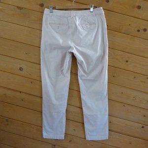 Pilcro Athropologie Beige Pink Slim Chino Pants